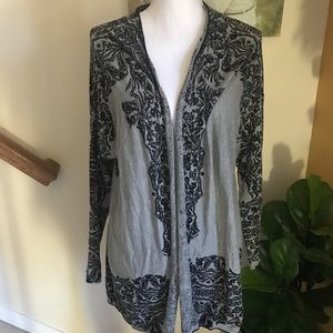 Soft Surroundings Carrie cardigan sweater size L